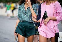 street fashion style / women's fashion