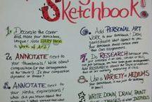 Art journals/ Sketchbooks