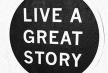 Inspiration / Words of wisdom