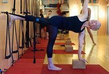 Parvrtta ardha chandrasana / Asanas syllabus iyengar yoga teacher training