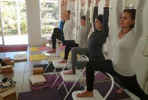 Virabhadrasana 1 / Asanas syllabus iyengar yoga teacher training