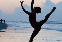 {Dancing through life} / Dance is my passion.