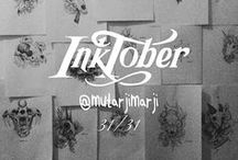 mutarjim inktober 2017 / mini collection for full artwork see on instagram or use hastag in instagram as https://www.instagram.com/explore/tags/inktobermutarjim/