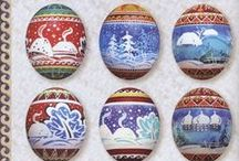 Art:  Pysanky and Folk Art inspiration from Sweden, Denmark, Ukraine, Poland, Germany and beyond!   / by Marcie A.