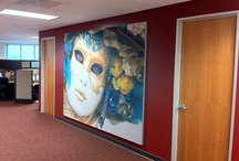Aspen Fabric Frame / Fabric Frame Printed Graphics for Mounting on Walls, Free-Standing or Hanging from Ceiling