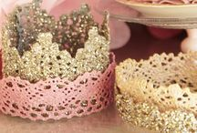 Theme :: Princess Party / Every little girl dreams of becoming a princess, it's the ultimate fairytale. Bring that dream to life for her with a Princess Party. Inspiration and ideas to host a party for little princesses