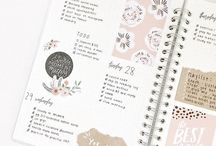 Bullet Journals / Great and easier ways for organize your life