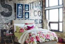 bedrooms / by Loretta Bakes
