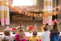Theme :: Movie Night / Party Ideas and inspiration for a movie night or outdoor cinema special event.