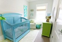 Nursery Inspiration / Beautiful nurseries to inspire you as you plan your own.