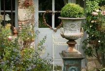 mon jardin / garden&birdhouse