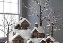 Kersthuisjes / huisjes