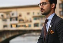 Dress to Impress - Men / Check out these pins for stylish ideas on what to wear in the office and for interviews.