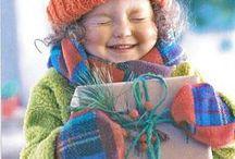 lautes liebevolles Lachen