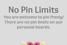 "No Pin Limits ༺♥༻ / You are WELCOME TO VISIT our members. We have NO PIN LIMITS on our PERSONAL boards. - NOTICE: Groups may contain a limit! Following is appreciated, COPYING a whole board is NOT! ༺♥༻ You may add ONE PIN A DAY to this group to invite visitors to your profile, so everyone's pins get a chance to be seen. ༺♥༻ JOIN THIS GROUP if you like to share your pins! ༺♥༻ FOLLOW US ON TWO MORE PAGES to get to know our members: ""No Pin Limits - Members"" & ""No Pin Limits - Groups per Category"" (see my info board). / by Babs ♡ Color & Theme"