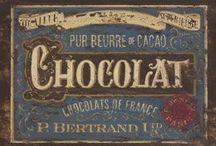 chocolat / chocolat - chocolate - cioccolato