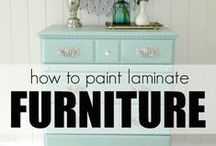 HOW TO - Paint Furniture Like A Pro / Finally getting serious about ACTUALLY transforming and incorporating Road Finds into our perfect living aesthetics....on a budget.  This board is a compilation of personally researched pins and links  incorporating quality images, easy to understand instructions, and time saving tips that I will be able to follow easily / by G Bella Patchwork