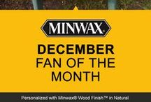 Minwax® Fan of the Month / Help us choose our Fan of the Month. REPIN or LIKE your favorites! / by Minwax