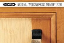"Minwax National Woodworking Month® 2016: Why Do You DIY? / This year, for Minwax National Woodworking Month®, we're asking ""Why Do You DIY?"" To help you answer these questions, follow these expert tips & tricks and don't forget to click the Pins to download our rebate form! / by Minwax"