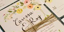 Lian's Wedding Invites