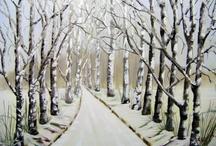 my oil paintings