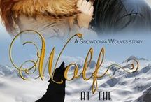 Wolf at The Door (Snowdonia Wolves #1) / Wolf at the Door is the first in the Snowdonia Wolves series of paranormal shifter novellas. Jake Bledri, alpha pack leader, falls in love with rock star Ella Hart.  Published by Liquid Silver Books, 13 May 2013. Re-released by Acelette Press.