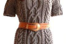 abiti, gonne e pantaloni a maglia