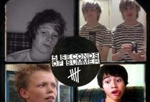 5 Seconds of Summer / Too bad 5 Seconds of Summer isn't punk rock / by Katrina Springer