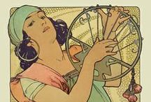 Alphonse Mucha - Poster Gallery / Poster Gallery / by Yaneff International Fine Art
