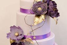 Hääkakut - Wedding cakes / Hääkakkuja matkan varrelta, wedding cakes from the bakery