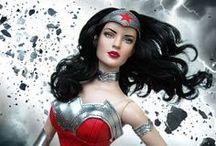 Wonder Woman 52 (2013, LE300) / DC Stars Collection /   New Tyler head sculpt
