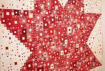 Red and white / квилты в красно-белом исполнении