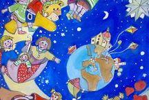 ARTE NAIF / dipinti Naive di Eugenio Porcini