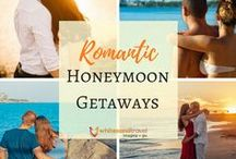 Romantic Honeymoon Getaways / There are so many locations in the world that would be perfect for a romantic honeymoon getaway. From Paris to Barbados, or even British Columbia all are great choices when booking your ideal honeymoon.