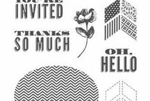Oh, Hello (Apr. 7, 2014) / Stampin' Up! Demonstrator Blog hop featuring projects created using the Oh, Hello stamp set.