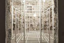 Arte y Esculturas / Tablero que muestra proyectos ajenos a Mo.A, que sirven para expresar nuestras preferencias arquitectónicas