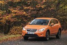 """XV / Když se řekne """"auto do města"""", v Subaru máme trochu jinou představu než ostatní. Příjemně všestranný crossover si ve městě poradí bez ohledu na podmínky - klidně i při živelné pohromě."""