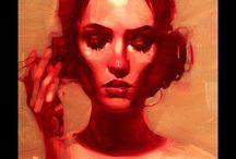 Artiste Michael Carson / art peinture