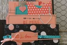 Valentine (Jan 15, 2015) / Valentine related projects -  we did not choose a specific stamp set this time.