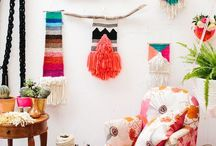 Weave it / Ideas and inspirational things to weave, some for kids, some for adults