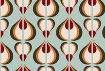 Fabric patterns.