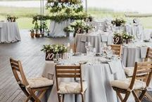 SUMMER WEDDING / Summertime bouquets, flowy wedding dresses, and beach-ready shoes