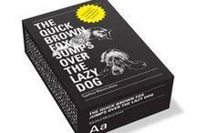 Graphic design & typography / ..inspire & create