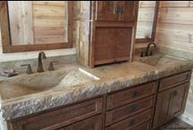McGDesigns Sinks / A wide variety of sink styles are available. Integrated, vessel, barrel, and farm style sinks are commonly chosen, but we have a catalog of styles from which you can choose to suit your unique needs and specifications. / by James McGregor