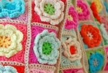 Colourful Crochet / I love to crochet with colourful cotton yarn!