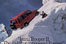 Isuzu Vintage Ads