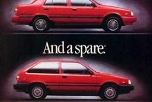 Hyundai Vintage Ads