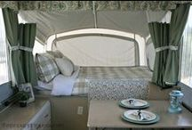Pop Up Camper / Tips and ideas for making camping in the trailer more comfortable.