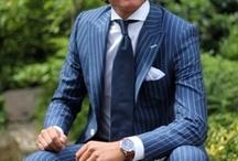 Men Suits / Lots of stylish men suits. / by Paul Grigore