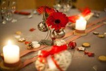 Fleuriste / Compositions florales, bouquet de mariés, boutonnière,  Décoration de la salle de réception…